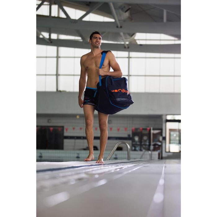 Bolsa equipo natación 60 L azul oscuro