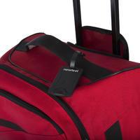 Set of 2 Travel Luggage Tags - Black