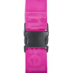 Correa equipaje rosa fluorescente
