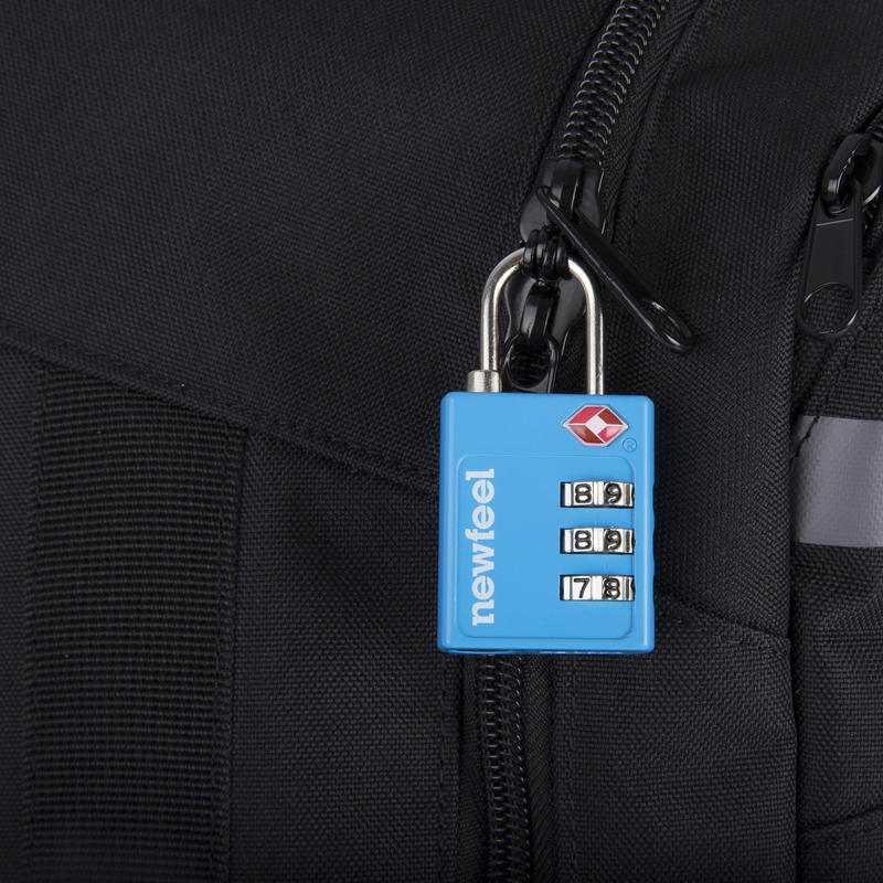 Travel TSA-Coded Padlock - Blue
