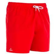 Rdeče plavalne kratke hlače HENDAIA