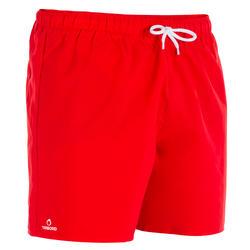 Boardshort corto Hendaia Rojo