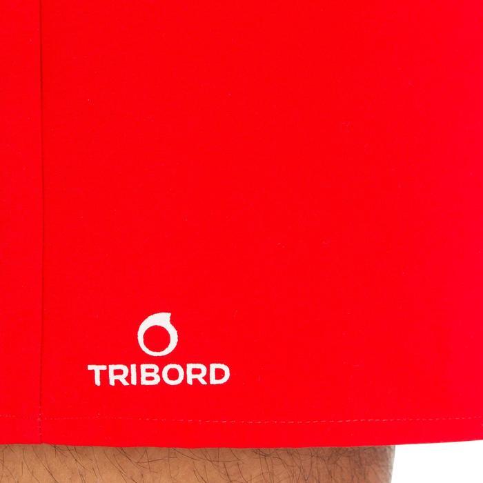 Korte boardshort Hendaia rood