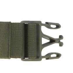 Portabalas Caza Solognac 100 Canana 20 Balas Rifle Tele Verde