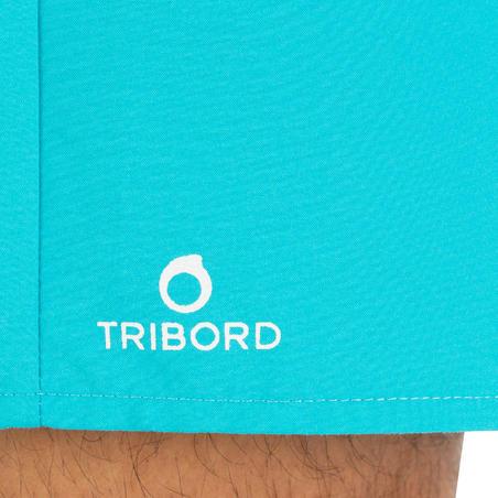 Boardshort court homme Hendaia bleu turquoise