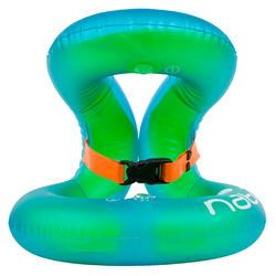 NECKVEST Inflatable swim vest, green