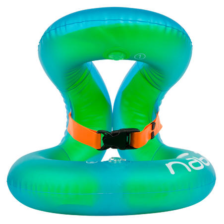 NECKVEST Inflatable swim vest, green