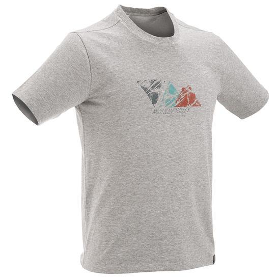 Wandel T-shirt met korte mouwen voor heren Techtil 100 gemêleerd - 433132