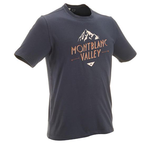 Wandel T-shirt met korte mouwen voor heren Techtil 100 gemêleerd - 433148