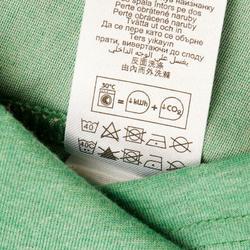 Wandel T-shirt met korte mouwen voor heren Techtil 100 gemêleerd - 433178