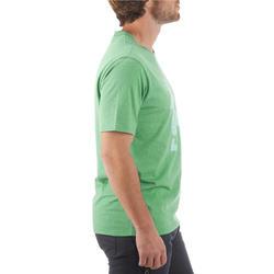 Wandel T-shirt met korte mouwen voor heren Techtil 100 gemêleerd - 433180