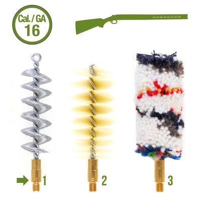 Brosses de rechange pour kit de nettoyage arme lisse