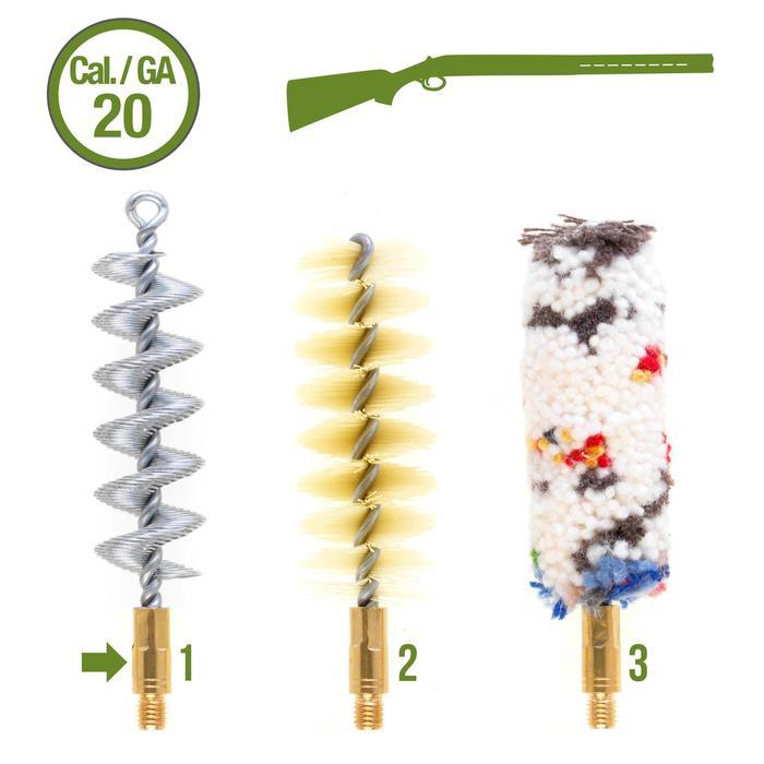 Kit Cepillos LImpieza Escopeta Solognac 100 Armas Lisas