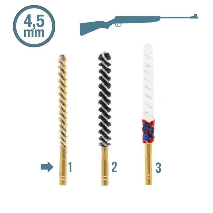 Poetsset voor wapens met kaliber 4,5 mm