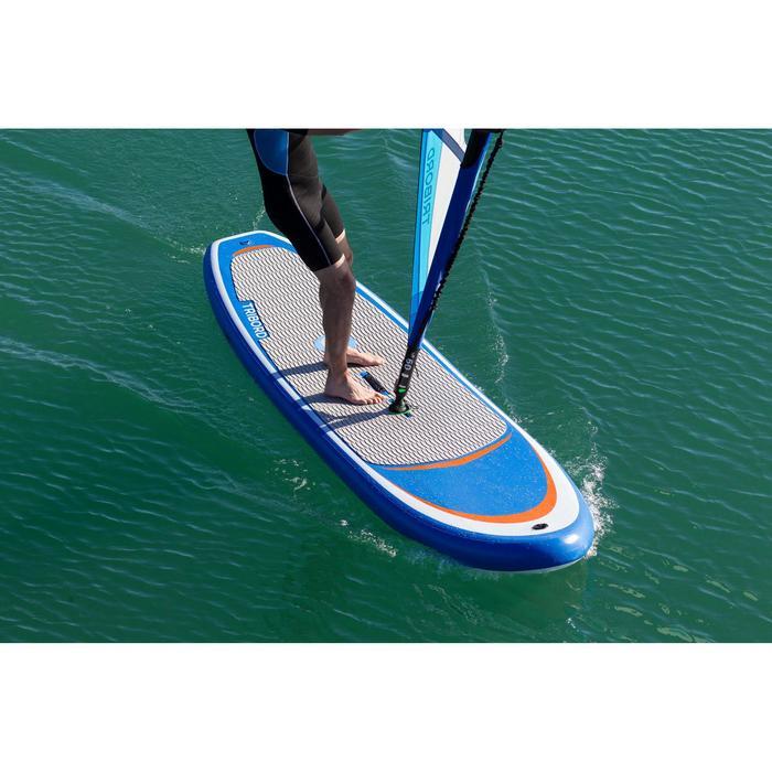 Opblaasbare windsurfplank / SUP board 320 L om te leren windsurfen.