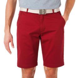 กางเกงกอล์ฟขาสั้นผ้...