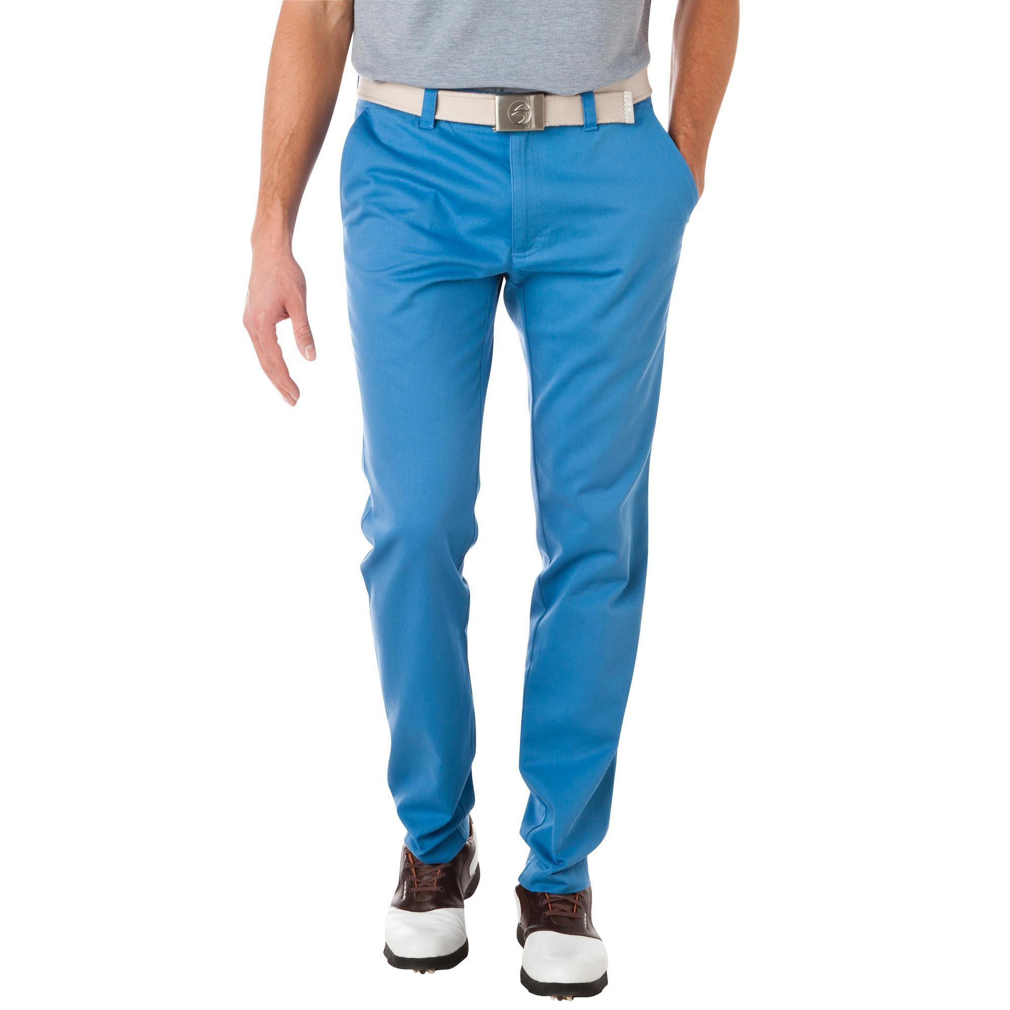 pantalon golf homme smar 39 tee bleu ciel inesis golf. Black Bedroom Furniture Sets. Home Design Ideas