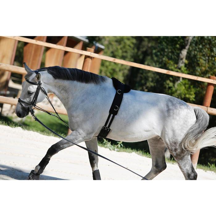 Surfaix de travail équitation cheval et poney noir - 437826