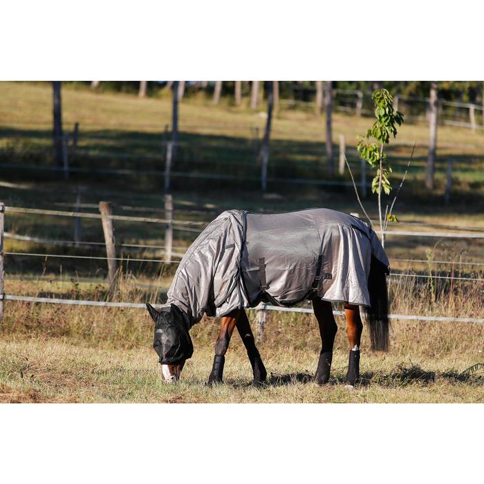 Chemise antimouche équitation chevaux et poneys beige - 438885