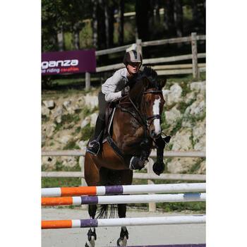 Filet + rênes équitation cheval et poney TINCKLE marron - 438956