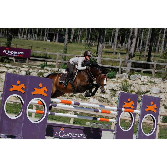 Filet + rênes équitation cheval et poney TINCKLE marron - 438960