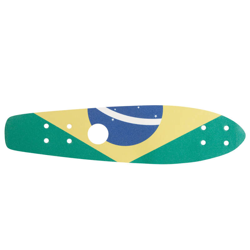 LONGBOARD AND CRUISER Skateboarding and Longboarding - Big Yamba Grip - Brazil OXELO - Skateboarding and Longboarding