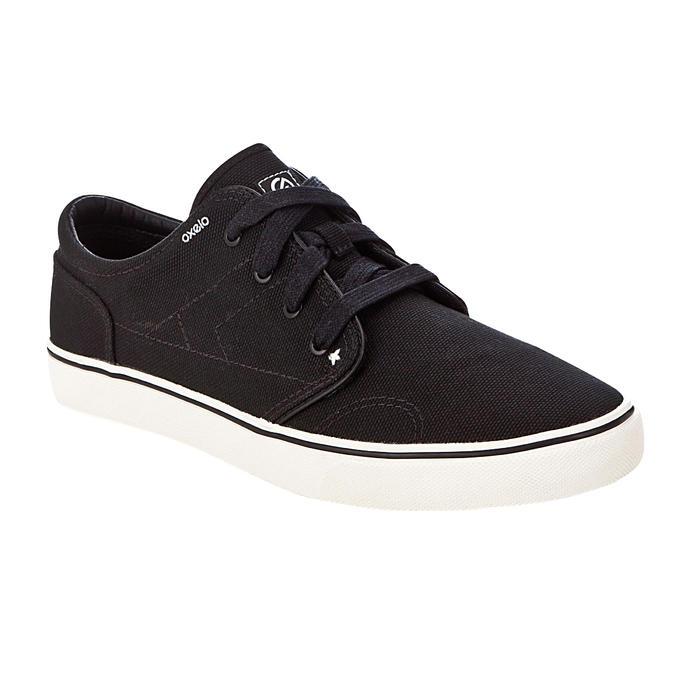 Skateschuh Sneaker Vulca 100 Canvas Longboard schwarz