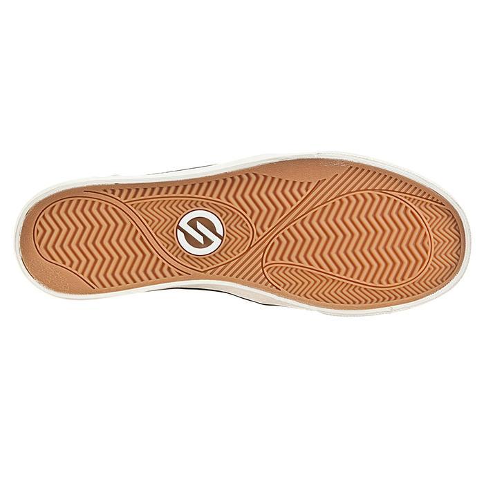 Skateboardschuhe Vulca Canvas Sneaker schwarz