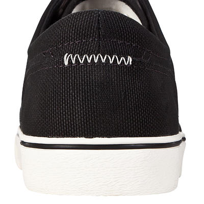 נעלי סקייטבורד לונגבורד נמוכות דגם Vulca Canvas - שחור