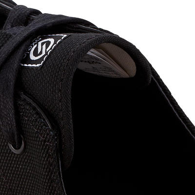 Vulca 100 Canvas Skateboarding Longboarding Low-Top Shoes - Black