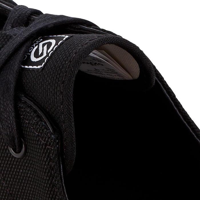 Zapatillas bajas de skateboard - longboard VULCA 100 CANVAS negro