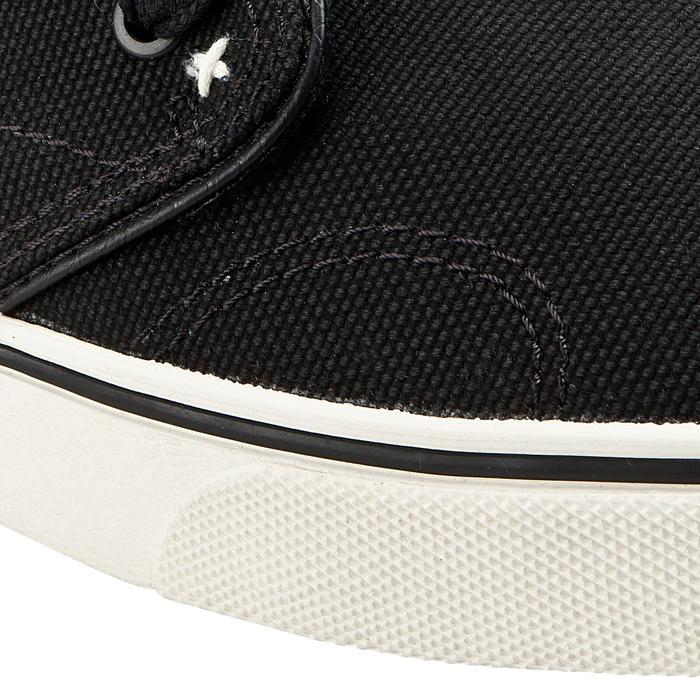 Lage skateboard-longboardschoenen Vulca Canvas H zwart