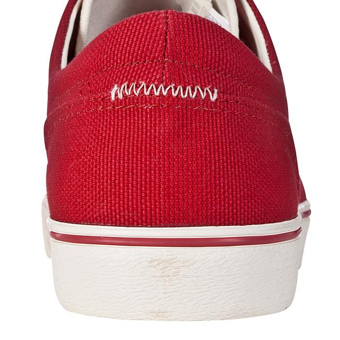 Zapatillas bajas adulto monopatín / longboard VULCA LONA L rojo