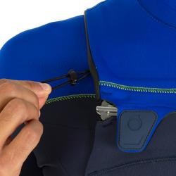 Heren shorty 900 met rits op de borst, neopreen 2 mm blauw - 439467