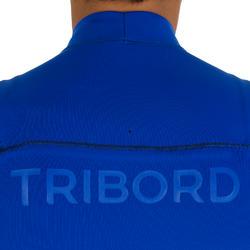 Heren shorty 900 met rits op de borst, neopreen 2 mm blauw - 439471