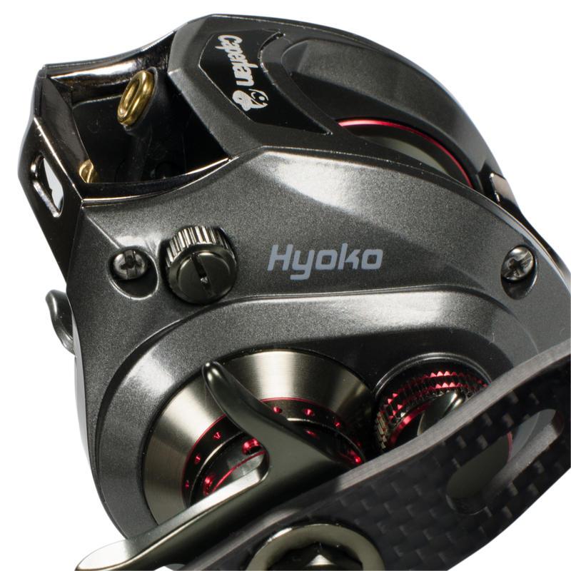 รอกรุ่น Hyoko LH สำหรับตีสายตกปลาด้วยเหยื่อปลอม