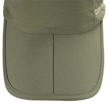 Folding fishing cap 500 khaki