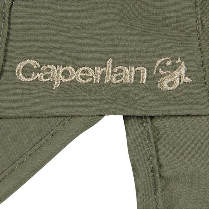 Vouwpet voor hengelsport 500 bruin kaki Caperlan