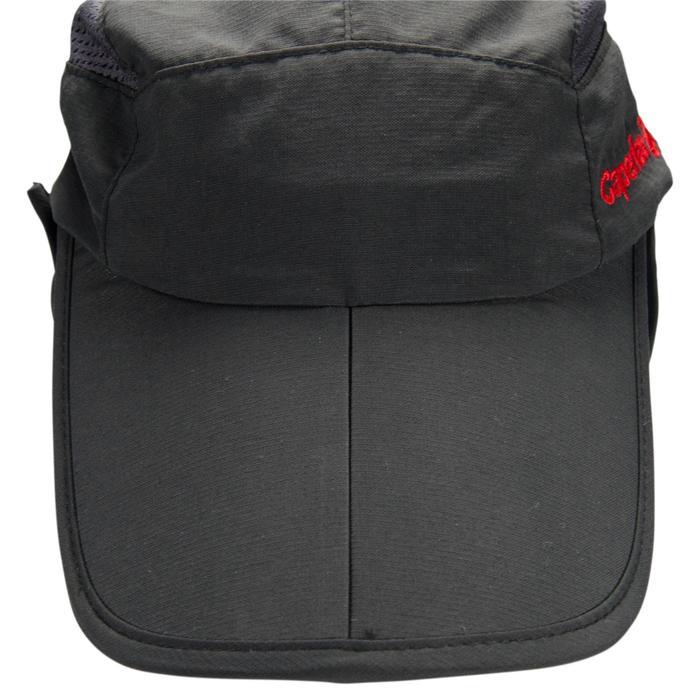 Folding fishing cap 500 grey
