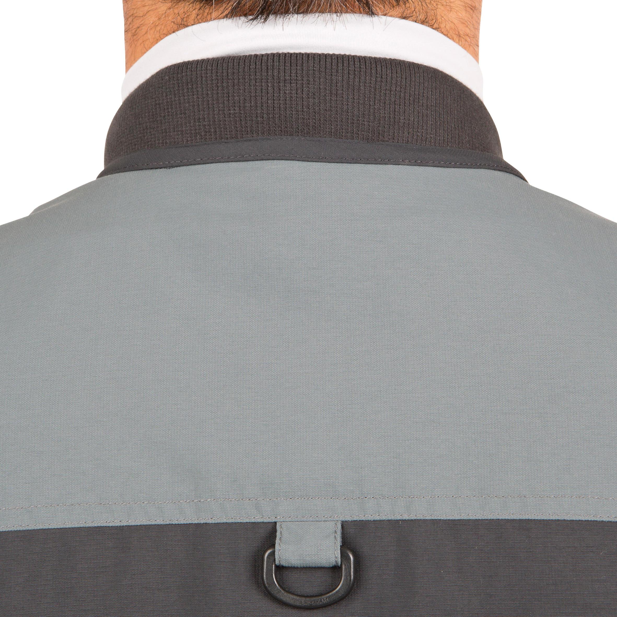 CAPERLAN Fishing gilet 500 - grey