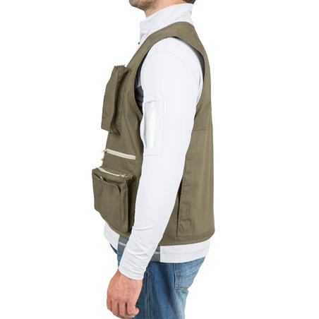 Vest Fishing 100 Khaki