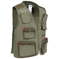 CAPERLAN 500 Fishing Gilet - Khaki