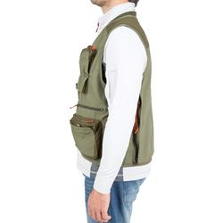 CAPERLAN fishing gilet 500 - khaki