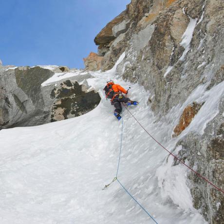 Glacier Climbing in India