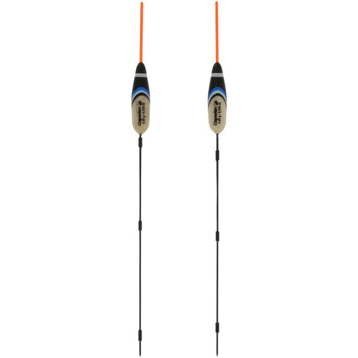Flotteur pêche au coup RIVERSHOW 0.8GR X2