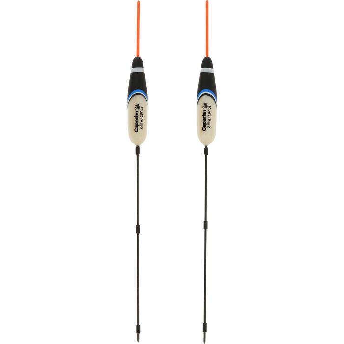 Flotteur pêche au coup RIVERSHOW 1gr X2