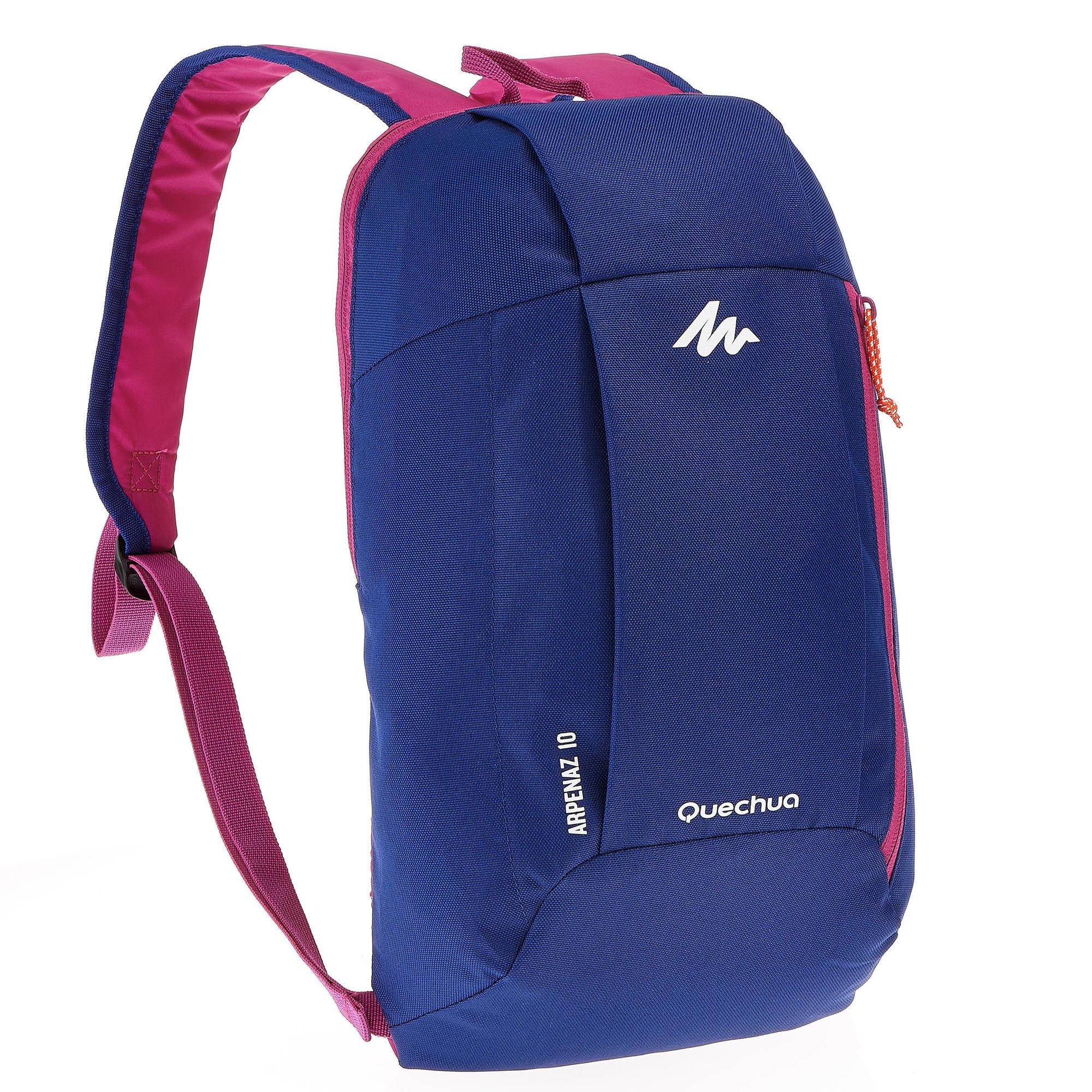 Nh100 10l Hiking Backpack Blue Purple Quechua