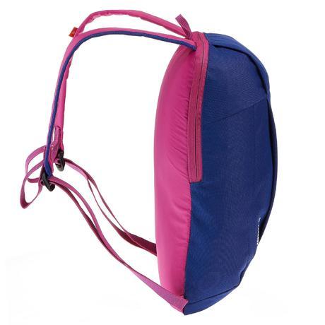 sac dos de randonn e pour la journ e arpenaz 10l bleu violet quechua. Black Bedroom Furniture Sets. Home Design Ideas