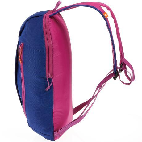 sac a dos de randonn e nh100 10 litres bleu violet quechua. Black Bedroom Furniture Sets. Home Design Ideas