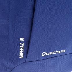 Wanderrucksack NH100 10 Liter blau/violett